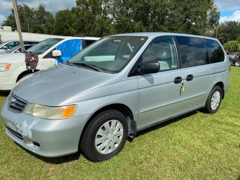 2003 Honda Odyssey for sale at Massey Auto Sales in Mulberry FL