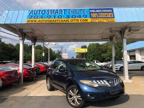 2009 Nissan Murano for sale at Auto Smart Charlotte in Charlotte NC