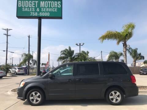 2012 Dodge Grand Caravan for sale at Budget Motors in Aransas Pass TX