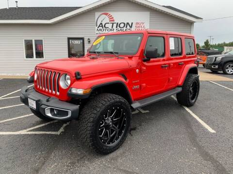 2020 Jeep Wrangler Unlimited for sale at Action Motor Sales in Gaylord MI