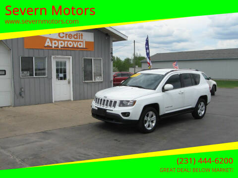2014 Jeep Compass for sale at Severn Motors in Cadillac MI