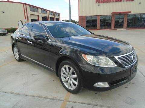 2008 Lexus LS 460 for sale at Premier Foreign Domestic Cars in Houston TX