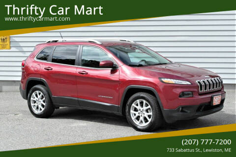 2016 Jeep Cherokee for sale at Thrifty Car Mart in Lewiston ME