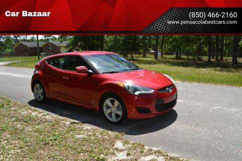 2014 Hyundai Veloster for sale at Car Bazaar in Pensacola FL