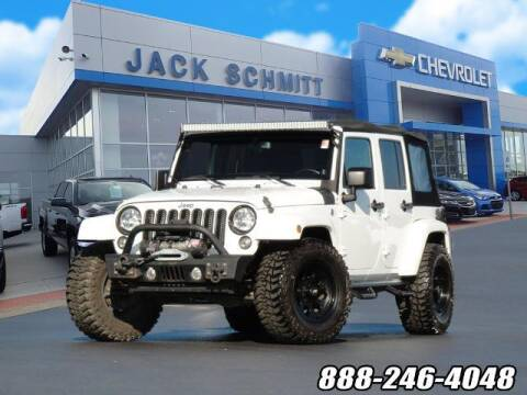 2014 Jeep Wrangler Unlimited for sale at Jack Schmitt Chevrolet Wood River in Wood River IL