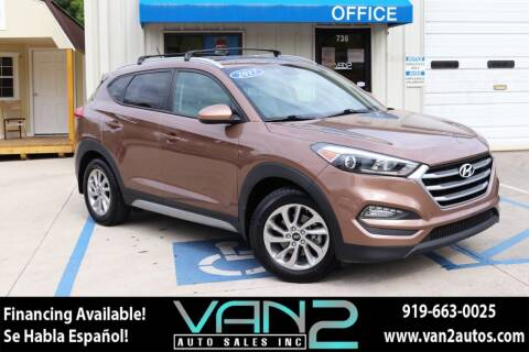 2017 Hyundai Tucson for sale at Van 2 Auto Sales Inc in Siler City NC