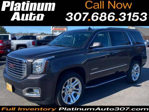 2018 GMC Yukon for sale at Platinum Auto in Gillette WY