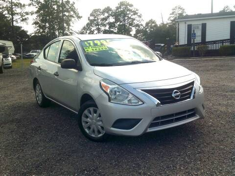 2015 Nissan Versa for sale at Let's Go Auto Of Columbia in West Columbia SC