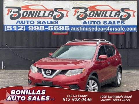 2015 Nissan Rogue for sale at Bonillas Auto Sales in Austin TX