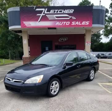 2007 Honda Accord for sale at Fletcher Auto Sales in Augusta GA