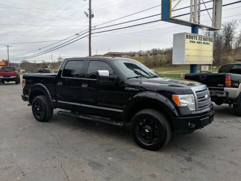 2011 Ford F-150 for sale at Route 22 Autos in Zanesville OH