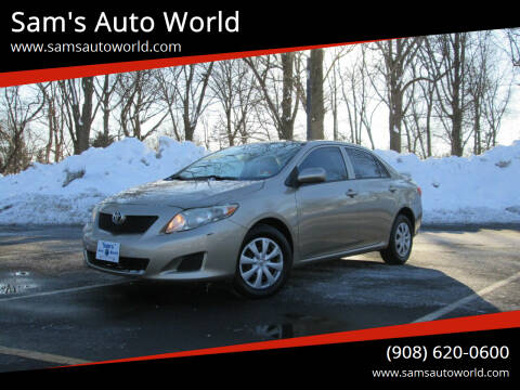 2010 Toyota Corolla for sale at Sam's Auto World in Roselle NJ