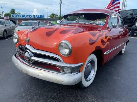 1950 Ford Deluxe for sale at KD's Auto Sales in Pompano Beach FL