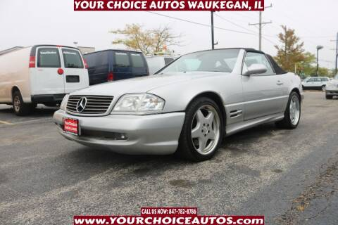 2000 Mercedes-Benz SL-Class for sale at Your Choice Autos - Waukegan in Waukegan IL