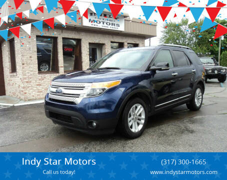 2012 Ford Explorer for sale at Indy Star Motors in Indianapolis IN
