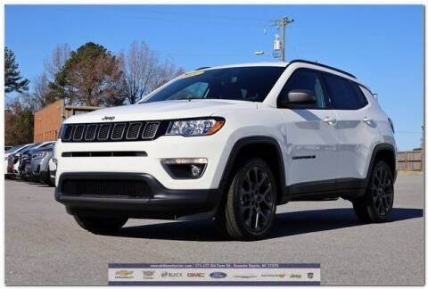 2021 Jeep Compass for sale at WHITE MOTORS INC in Roanoke Rapids NC