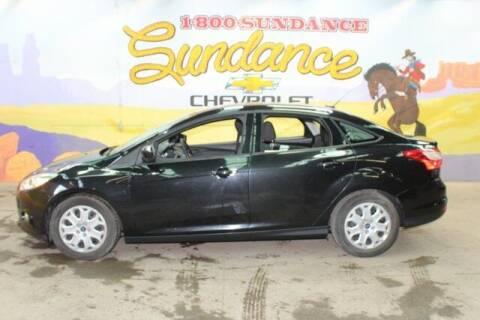 2012 Ford Focus for sale at Sundance Chevrolet in Grand Ledge MI