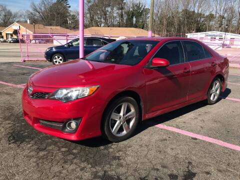 2012 Toyota Camry for sale at Fast and Friendly Auto Sales LLC in Decatur GA