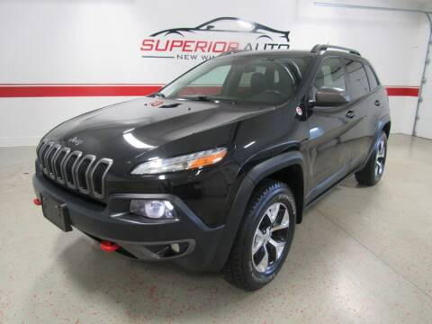2014 Jeep Cherokee for sale at Superior Auto Sales in New Windsor NY