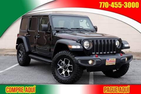 2019 Jeep Wrangler Unlimited for sale at El Compadre Trucks in Doraville GA