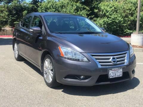 2013 Nissan Sentra for sale at JENIN MOTORS in Hayward CA