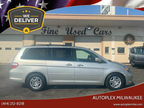 2007 Honda Odyssey for sale at Autoplex 3 in Milwaukee WI