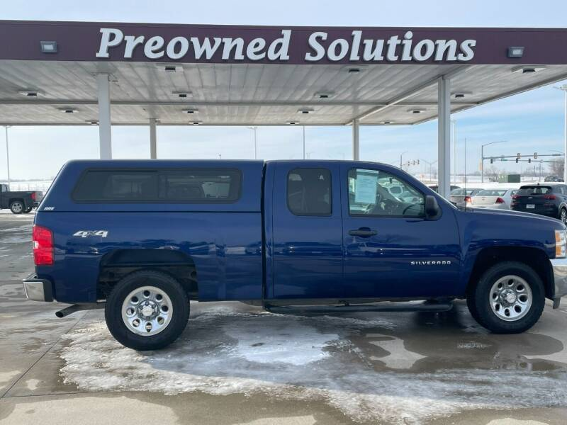 2013 Chevrolet Silverado 1500 for sale at Preowned Solutions in Urbandale IA