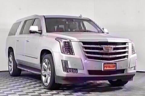 2020 Cadillac Escalade ESV for sale at Washington Auto Credit in Puyallup WA