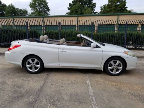 2006 Toyota Camry Solara for sale at Hollingsworth Auto Sales in Wake Forest NC