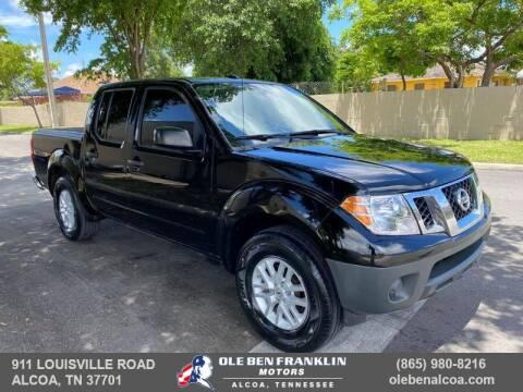 2018 Nissan Frontier for sale at Ole Ben Franklin Motors-Mitsubishi of Alcoa in Alcoa TN