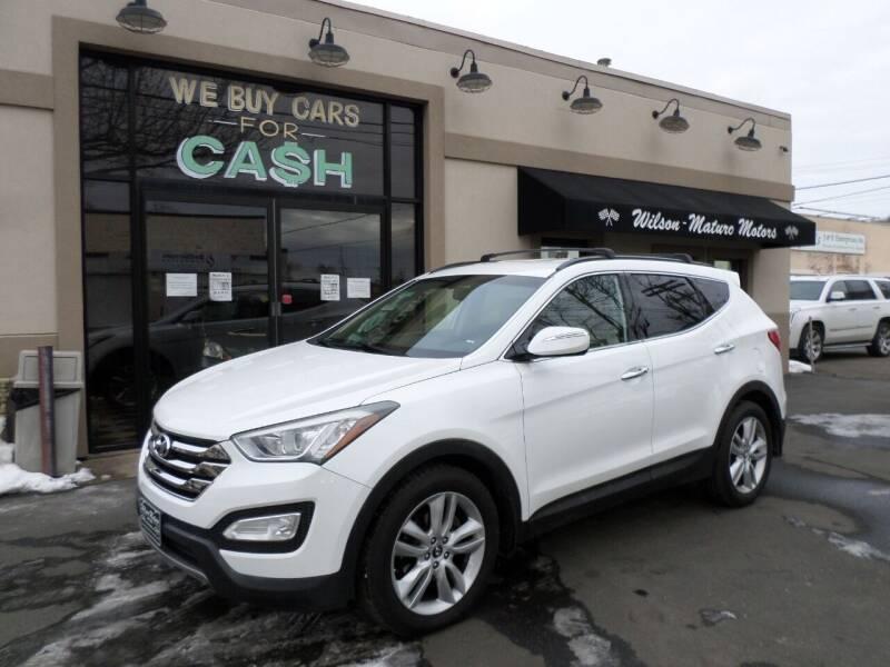 2013 Hyundai Santa Fe Sport for sale at Wilson-Maturo Motors in New Haven Ct CT