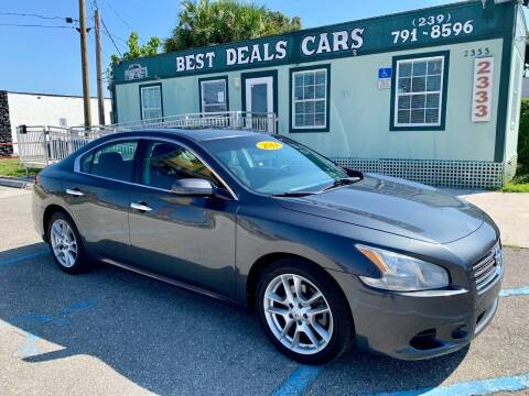 2011 Nissan Maxima for sale at Best Deals Cars Inc in Fort Myers FL