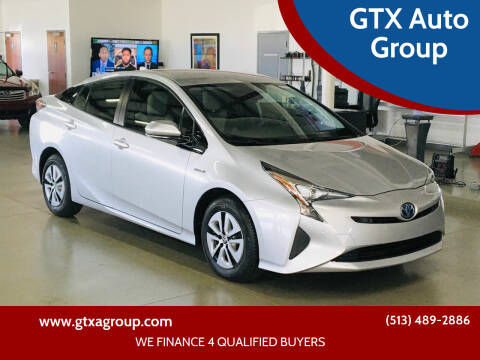 2018 Toyota Prius for sale at GTX Auto Group in West Chester OH