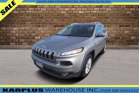 2018 Jeep Cherokee for sale at Karplus Warehouse in Pacoima CA