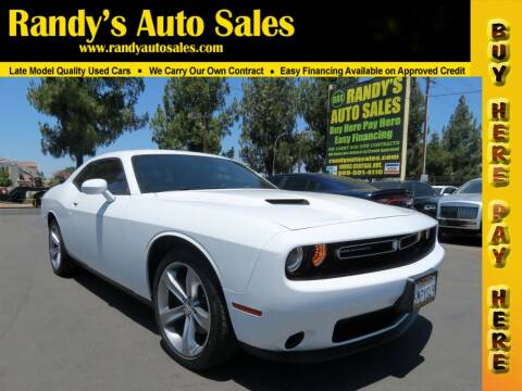 2015 Dodge Challenger for sale at Randy's Auto Sales in Ontario CA