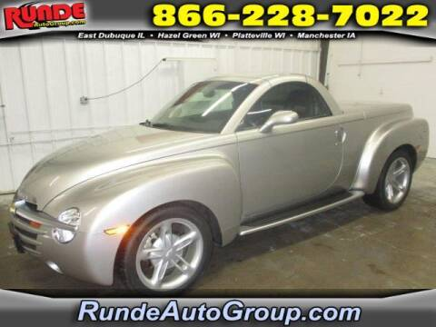 2004 Chevrolet SSR for sale at Runde Chevrolet in East Dubuque IL