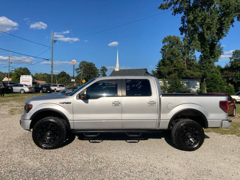 2013 Ford F-150 for sale at Joye & Company INC, in Augusta GA