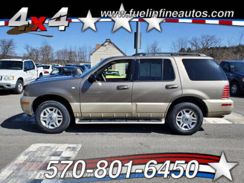 2004 Mercury Mountaineer for sale at FUELIN FINE AUTO SALES INC in Saylorsburg PA