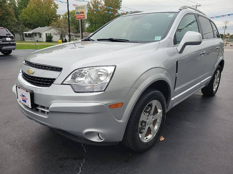 2012 Chevrolet Captiva Sport for sale at County Seat Motors in Union MO