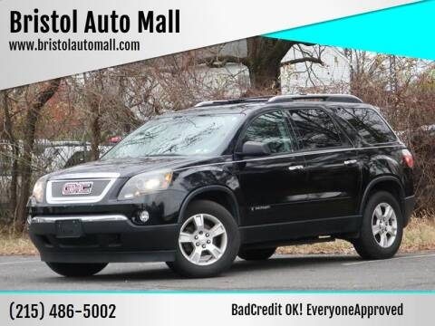 2008 GMC Acadia for sale at Bristol Auto Mall in Levittown PA