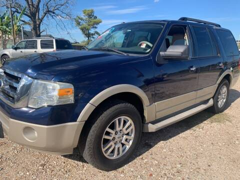 2010 Ford Expedition for sale at FAIR DEAL AUTO SALES INC in Houston TX