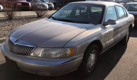 1998 Lincoln Continental for sale at D & J AUTO EXCHANGE in Columbus IN