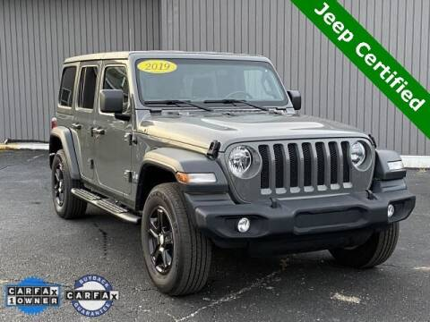 2019 Jeep Wrangler Unlimited for sale at Bankruptcy Auto Loans Now - powered by Semaj in Brighton MI