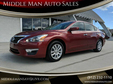 2013 Nissan Altima for sale at Middle Man Auto Sales in Savannah GA