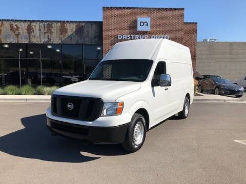 2017 Nissan NV Cargo for sale at Dastrup Auto in Lindon UT