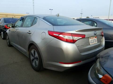 2012 Kia Optima Hybrid for sale at McHenry Auto Sales in Modesto CA