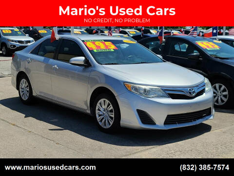 2013 Toyota Camry for sale at Mario's Used Cars in Houston TX