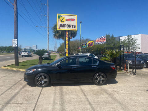 2017 Honda Accord for sale at A to Z IMPORTS in Metairie LA
