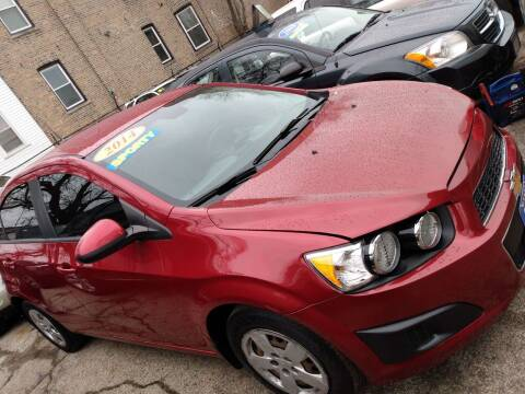 2014 Chevrolet Sonic for sale at 5 Stars Auto Service and Sales in Chicago IL