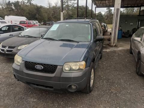 2005 Ford Escape for sale at Ebert Auto Sales in Valdosta GA
